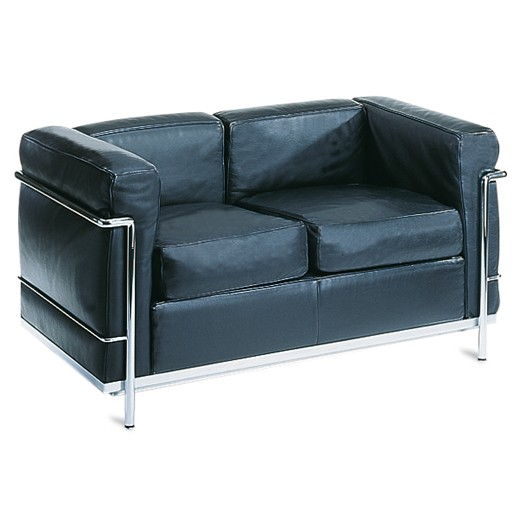 "Sofa ""LE CORBUSIER LC2"", 2-Sitzer"